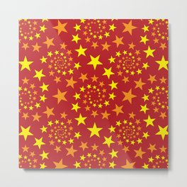 star stars pattern design Metal Print