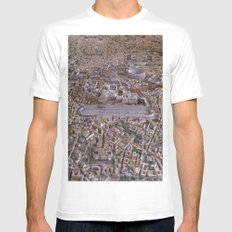 Rome in the Time of Constantine White MEDIUM Mens Fitted Tee