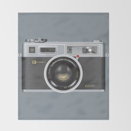 Yashica Electro 35 GSN Camera Throw Blanket