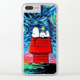 Snoopy Clear iPhone Case
