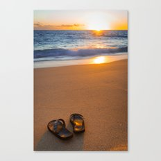 Time to relax... Canvas Print