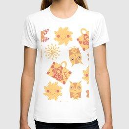 Travel pattern 4bg T-shirt