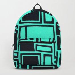Windows & Frames - Teal Backpack