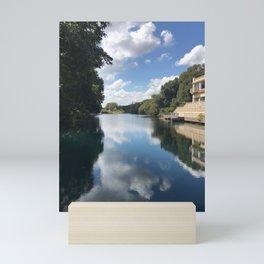 the river san marcos, texas Mini Art Print
