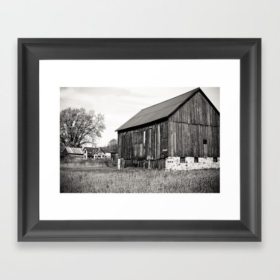 Rustic Rural Framed Art Print