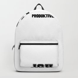 I am breathing Productive Backpack