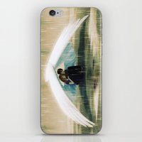 wings iPhone & iPod Skins featuring Wings by Emmy Cicierega
