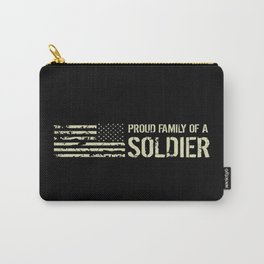 Proud Family of a Soldier Carry-All Pouch