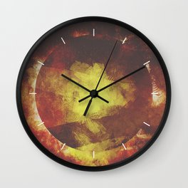 The baby moon Wall Clock