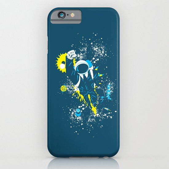 space suit iPhone & iPod Case