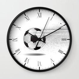 Moving Football Wall Clock