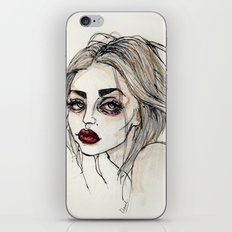 Frances Bean Cobain no.3 iPhone & iPod Skin