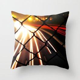Streaming Light Throw Pillow