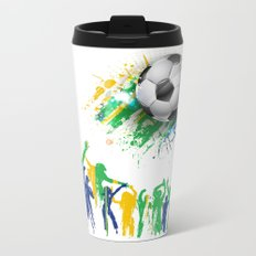 World Cup Fever Metal Travel Mug
