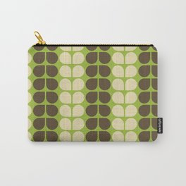 Retro leaf Carry-All Pouch