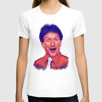 robin williams T-shirts featuring Young Robin Williams  by Thubakabra