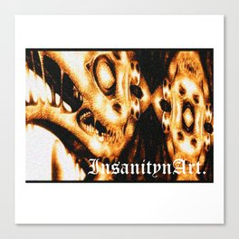 InsanitynArt's Plague Doctors of Death Digitally Edited Illustration. Canvas Print