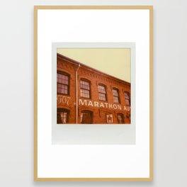 In Nashville. Framed Art Print
