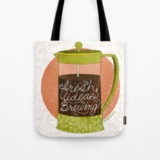 French Pressed Ideas  Tote Bag