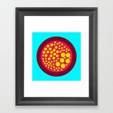 Push Buttons Framed Art Print