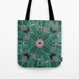 Beach Rose Pattern Tote Bag