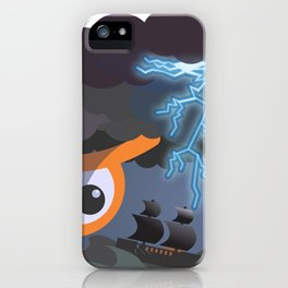 tempest at sight iPhone Case