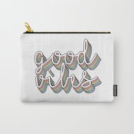 good vibes pastel Carry-All Pouch