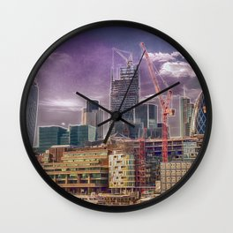 Cheese and Pickle Wall Clock