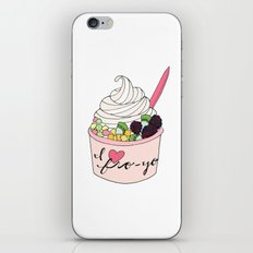 I Heart Fro-Yo iPhone & iPod Skin