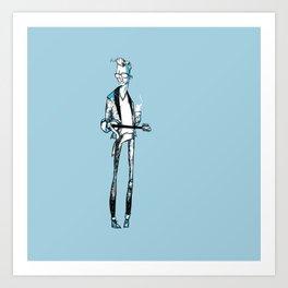 Mike Hind Art Print