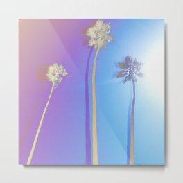 sun-dipped Palmtrees Metal Print