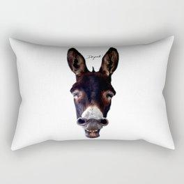 Laughing Donkey Rectangular Pillow