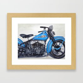 Good ride Framed Art Print