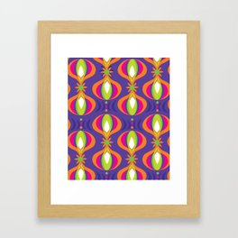 Oohladrop Purple Framed Art Print