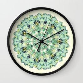 Damsel Wing Mandala i= Wall Clock