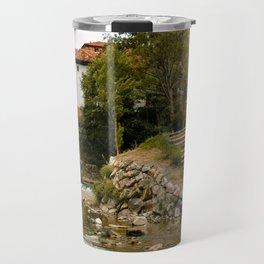 Nature Village Spain Potes Asturias Travel Mug