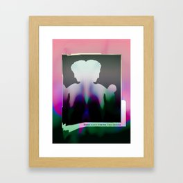 12 11 16 Framed Art Print