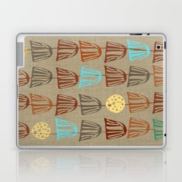 Pods and Seeds 2 on Linen Laptop & iPad Skin