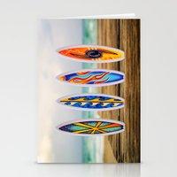 surfboard Stationery Cards featuring Surfboard by Leonardo Vega