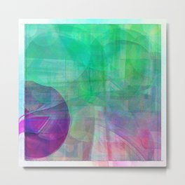 Abstract 2017 039 Metal Print