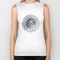 polka Biker Tanks featuring Polka Universe by Paula Belle Flores