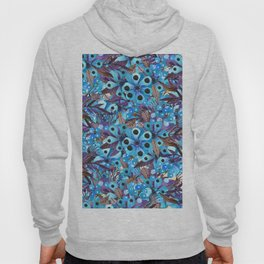 Exactly Where They'd Fall (Floral Pattern) Hoody