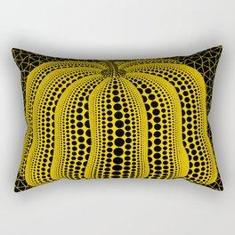 Kusama Yellow Pumpkin (High Quality) Rectangular Pillow