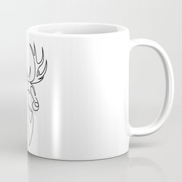 stag one line Coffee Mug