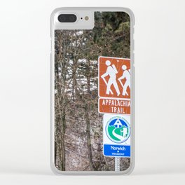 Walking the Appalachian Trail Clear iPhone Case
