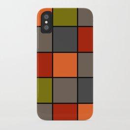 Colorful squares 2 iPhone Case