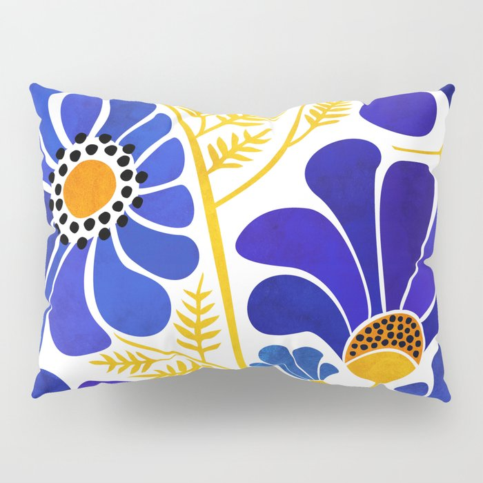 The Happiest Flowers Pillow Sham