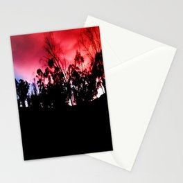 Intense mountain. Stationery Cards