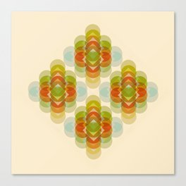 60's Pattern Canvas Print