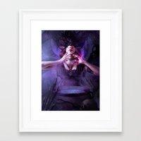 alchemy Framed Art Prints featuring Alchemy by aStripedUnicorn